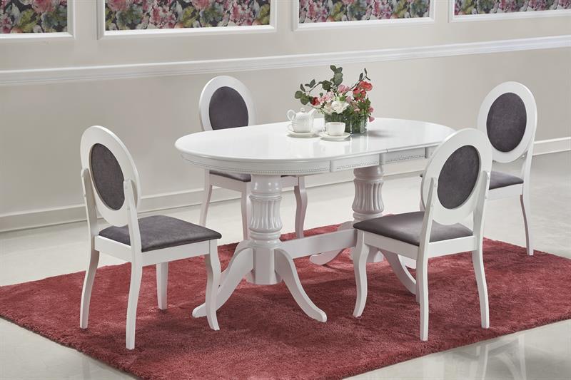 JOSEPH rozkladací stôl biely