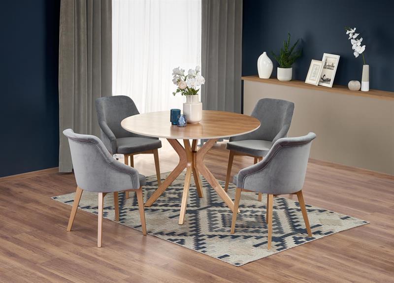 NICOLAS okrúhly stôl dub prírodný