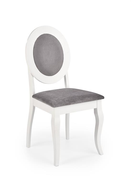 BAROCK stolička biely / šedá