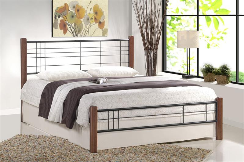 VIERA 180 cm posteľ čerešňa antická