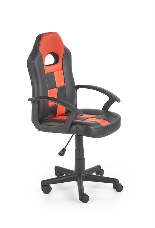 STORM detská stolička čierna / červená