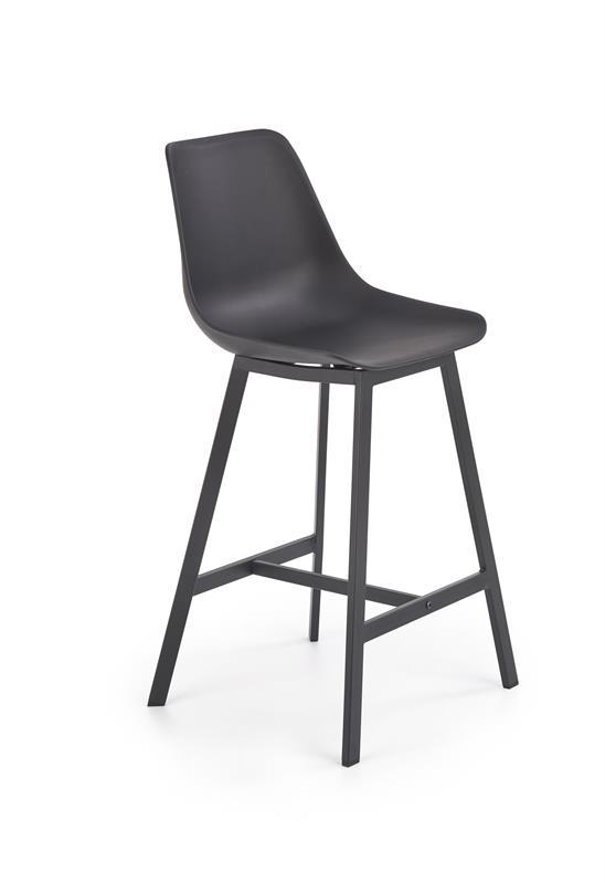 H99 barová stolička čierna / čierna