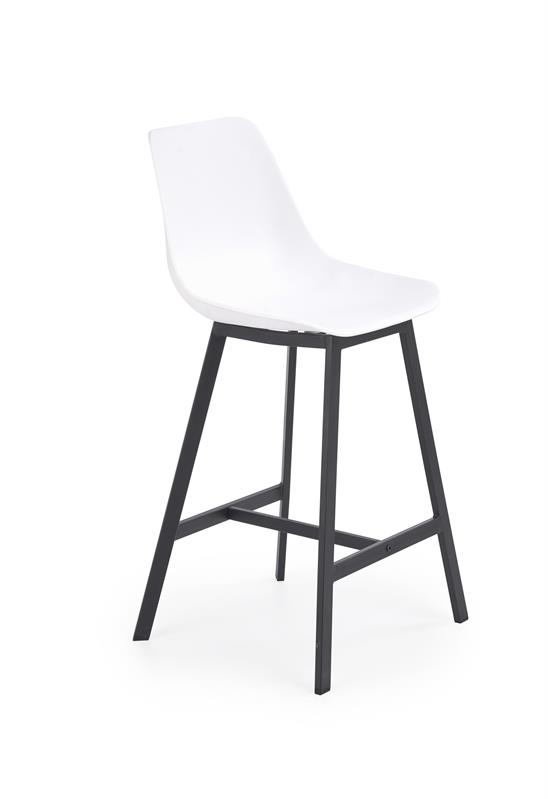 H99 barová stolička biely / čierna