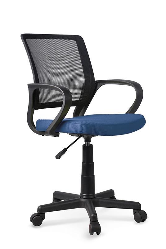 JOEL detská stolička čierna / modrá