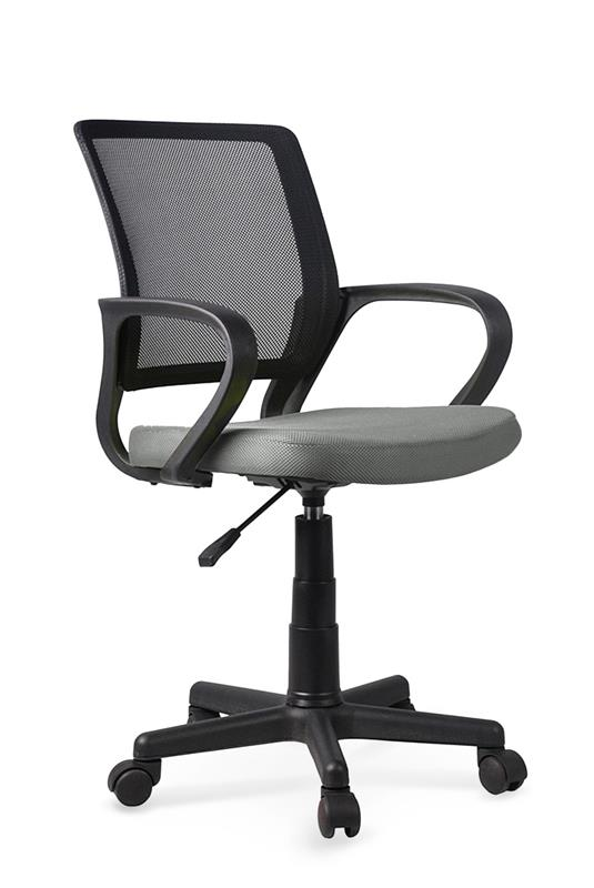 JOEL detská stolička čierna / šedá