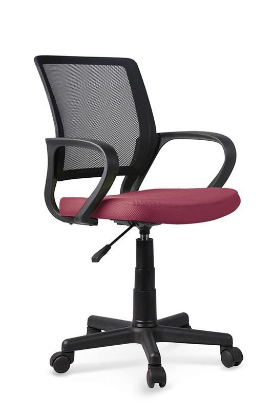 JOEL detská stolička čierna / tmavo ružová