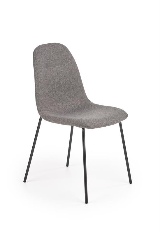 K413 stolička šedá