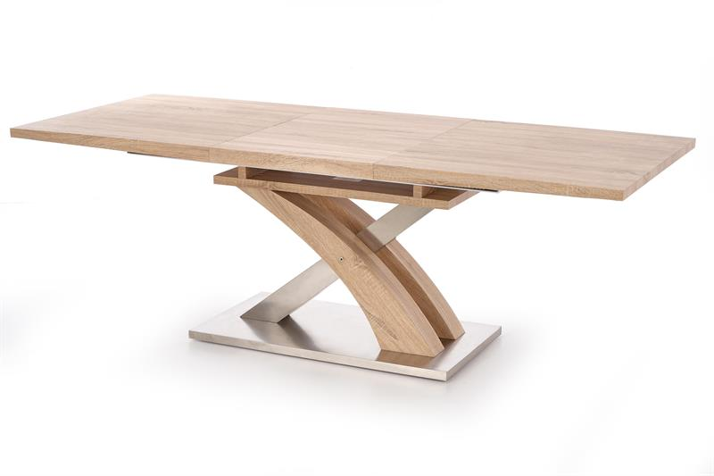 SANDOR rozkladací stôl dub sonoma