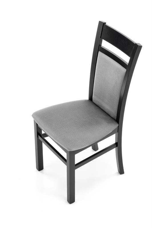 GERARD2 stolička čierna / čal: velvet Monolith 85 (šedá)