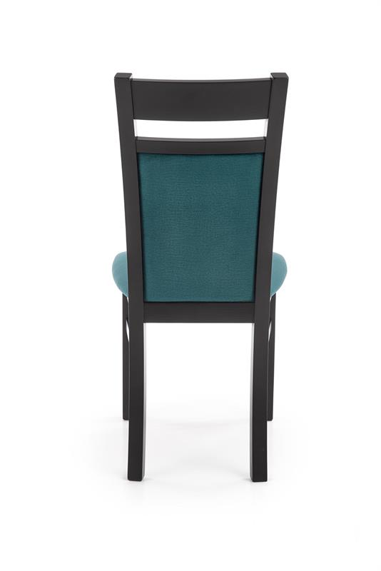 GERARD2 stolička čierna / čal: velvet Monolith 37 (tmavo zelená)