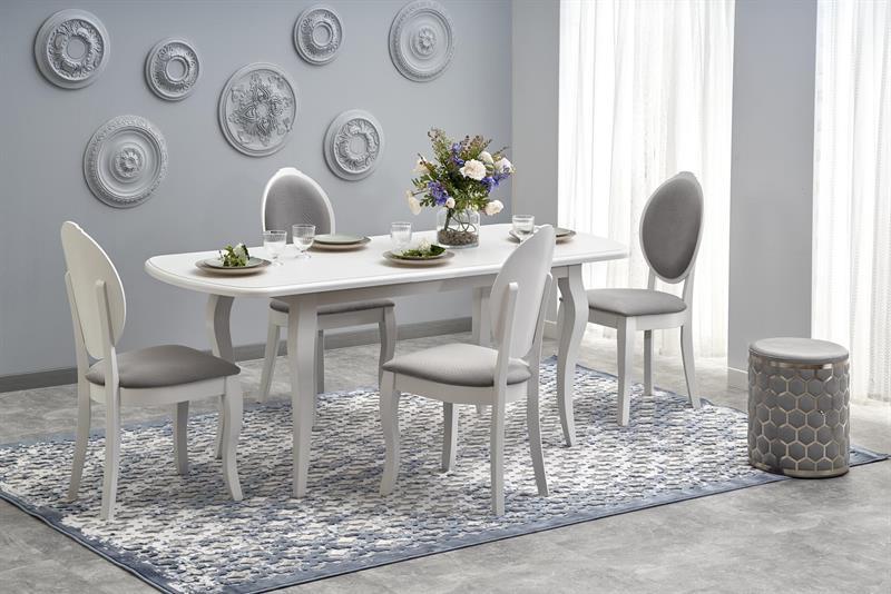 HORACY stôl doska - biela (150-190x80x76 cm)