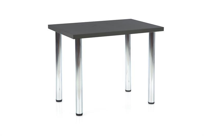 MODEX 90 stôl kolor doska - antracit, nohy - chróm
