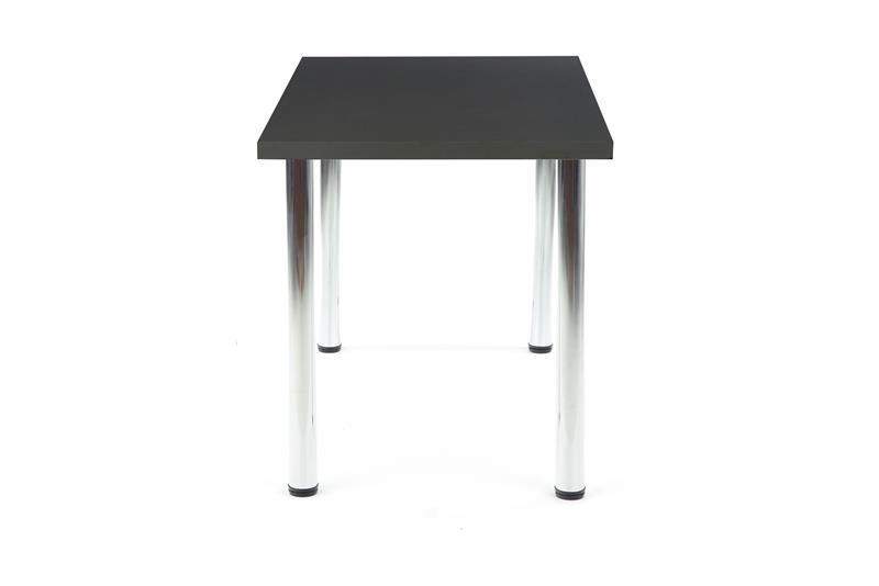MODEX 120 stôl kolor doska - antracit, nohy - chróm
