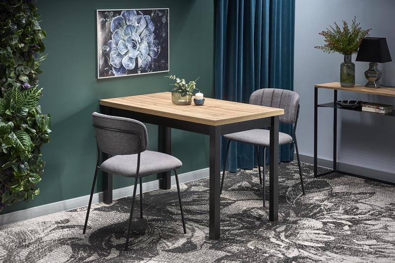 COBALT stôl dub wotan/čierny