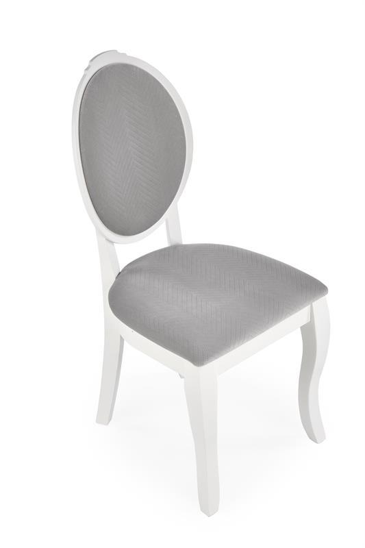 VELO stolička biela/šedá