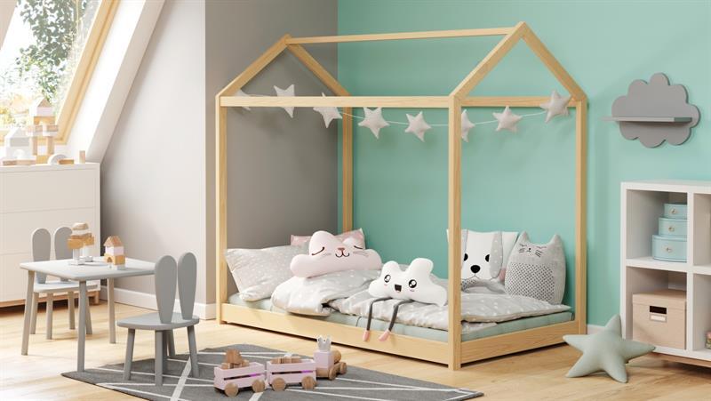 YOGI borovica posteľ 80x160