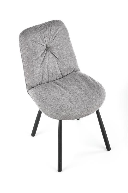 K422 stolička šedá