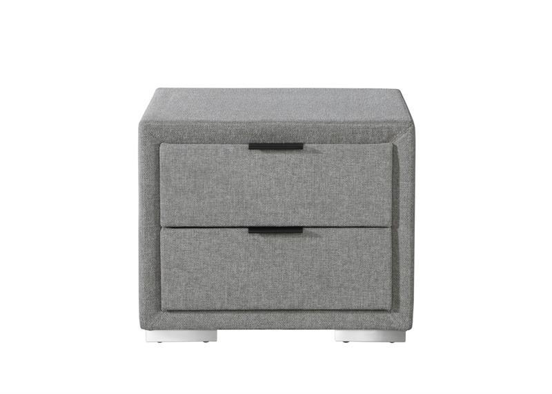 LEVANTER nočný stolík šedý