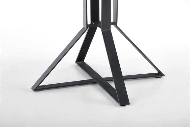 MERCY rozkladací stôl, doska - dub zlatý, nohy - čierne