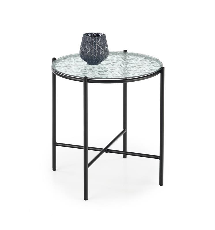 ROSALIA-S konferenčný stolík bezfarebný - čierny