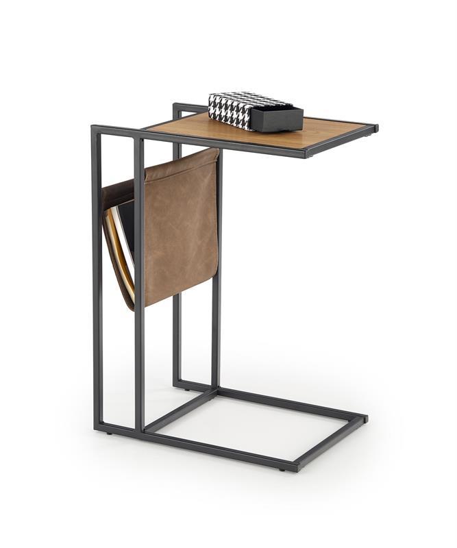 COMPACT konferenčný stolík dub zlatý/čierny