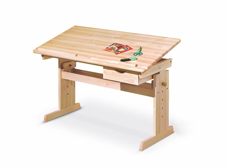 JULIA PC stôl borovica