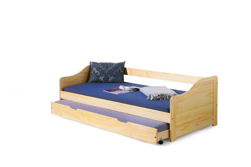 LAURA posteľ borovica