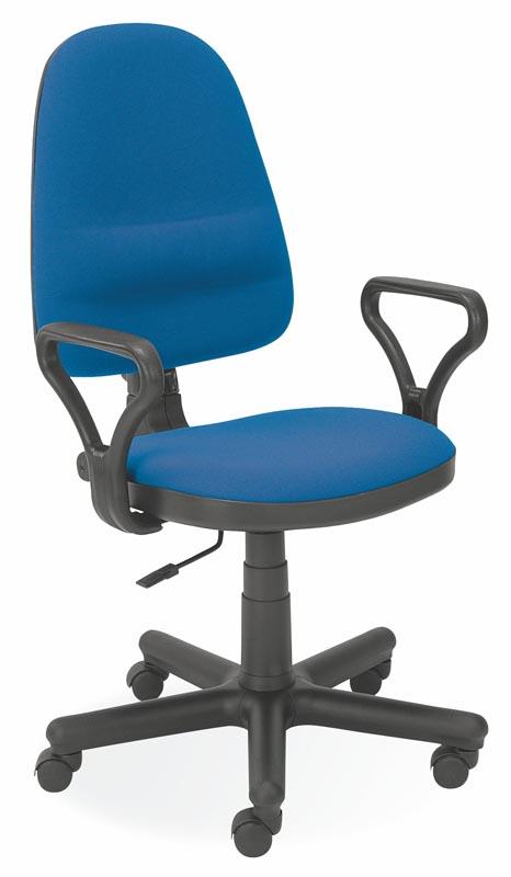 ISO stolička C6  modrá