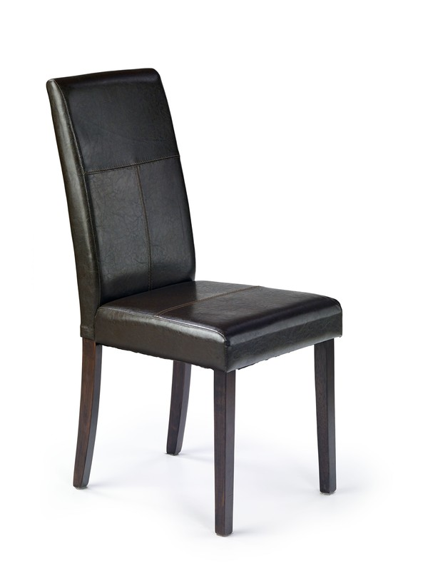 KERRY BIS  stolička wenge/tmavo hnedá