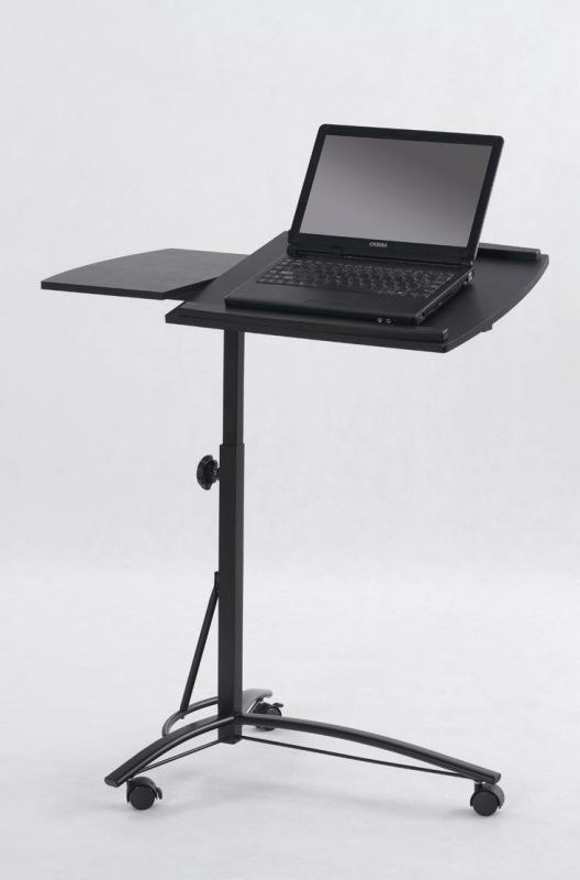 B14 stolík na notebook čierny