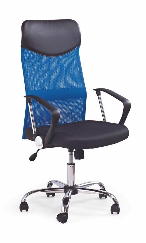 VIRE kancelárska stolička modrá
