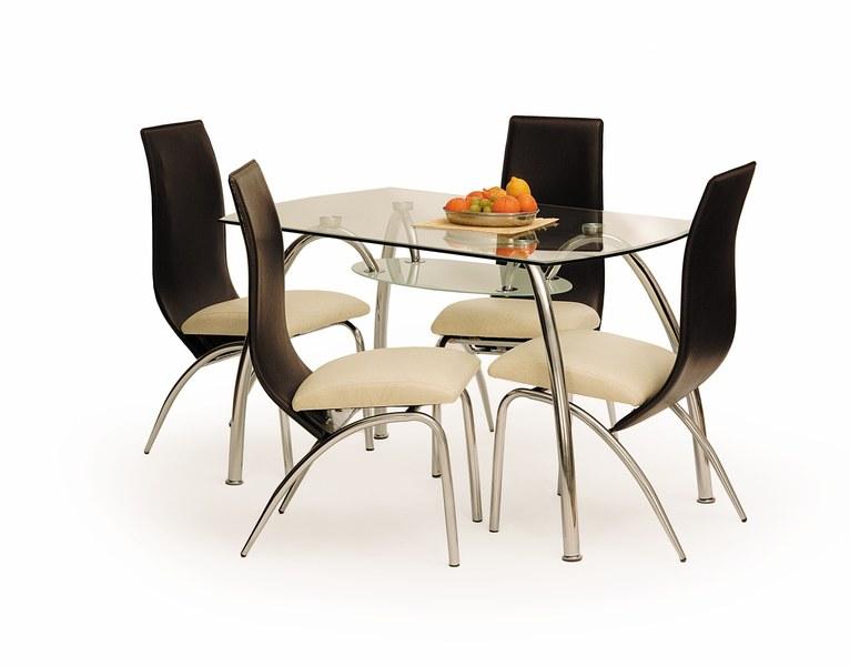 CORWIN BIS stôl bezfarebný
