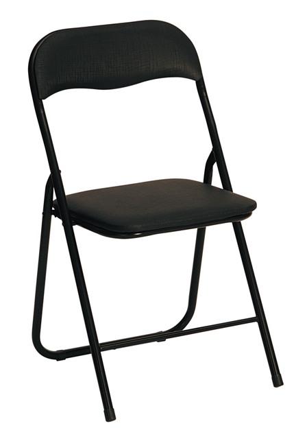 K5 stolička čierna