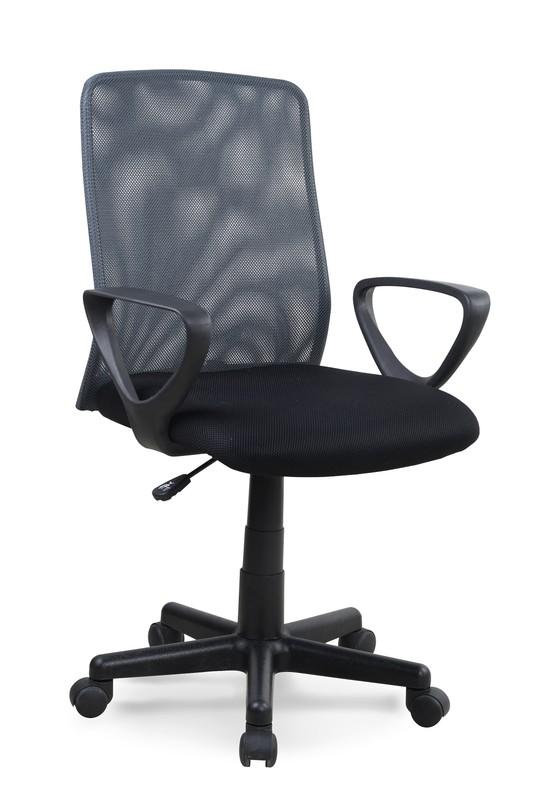 ALEX kancelárska stolička čierno-šedá