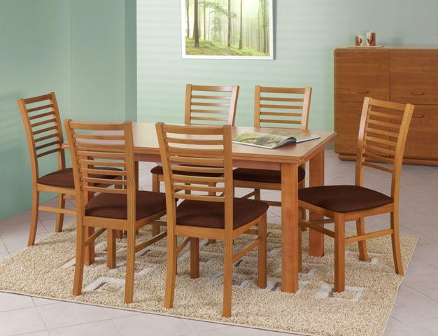 EMIL stôl farba jelša