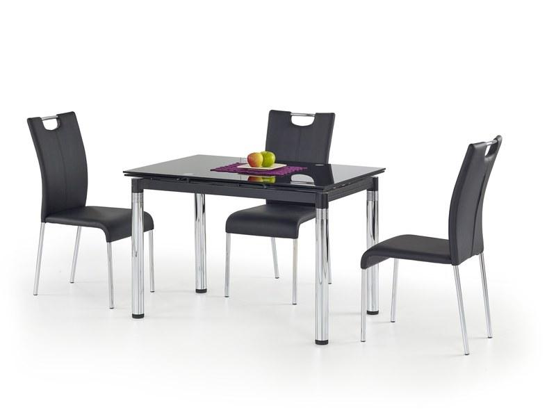 L31 stôl rozkladací čierny