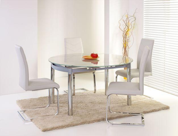 NESTOR stôl šedý