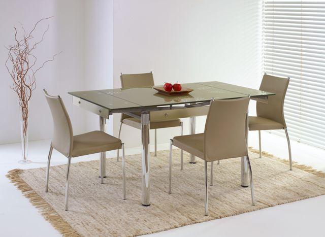 ELTON stôl béžový