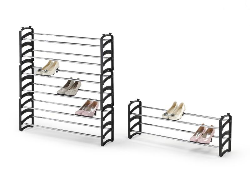 ST1 stojan na obuv, čierny