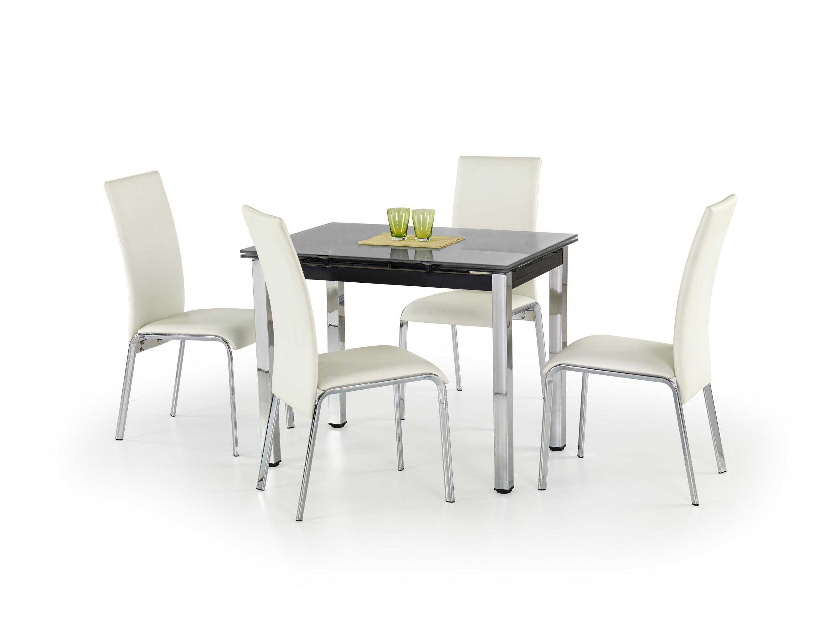 LOGAN stôl čierny