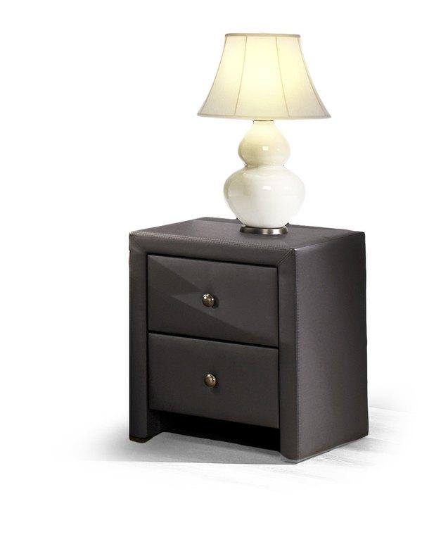 PRIMA nočný stolík čierny/ eco