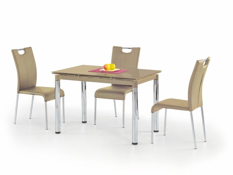 L31 stôl rozkladací béžový