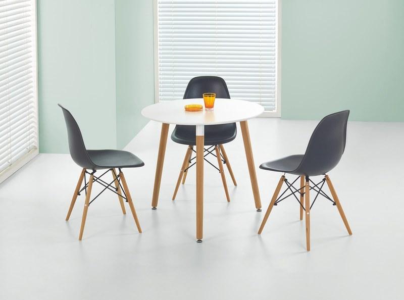 SOCRATES okrúhly stôl biely