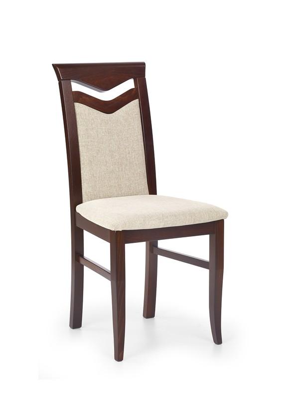 CITRONE stolička tmavo orech / tap: VILA 2