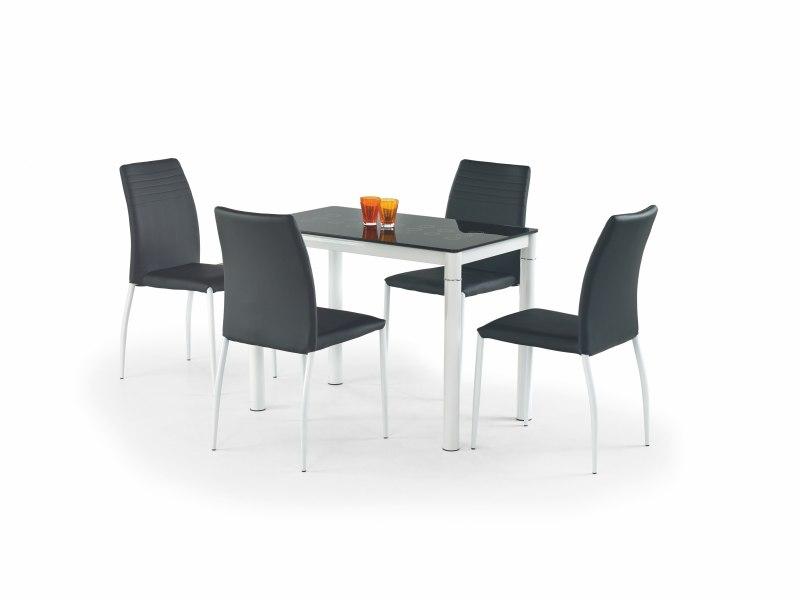 ARGUS stôl čierny/biely