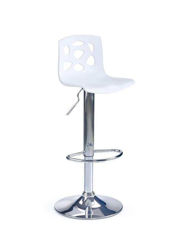 H48 barová stolička biela