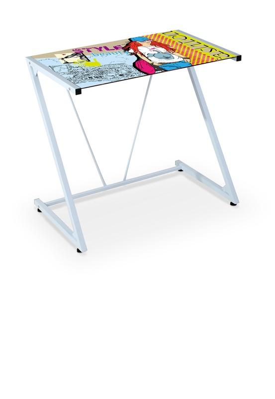 B26 PC stôl viacfarebný