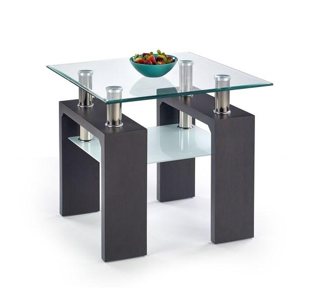 DIANA H štvorcový konferenčný stolík wenge