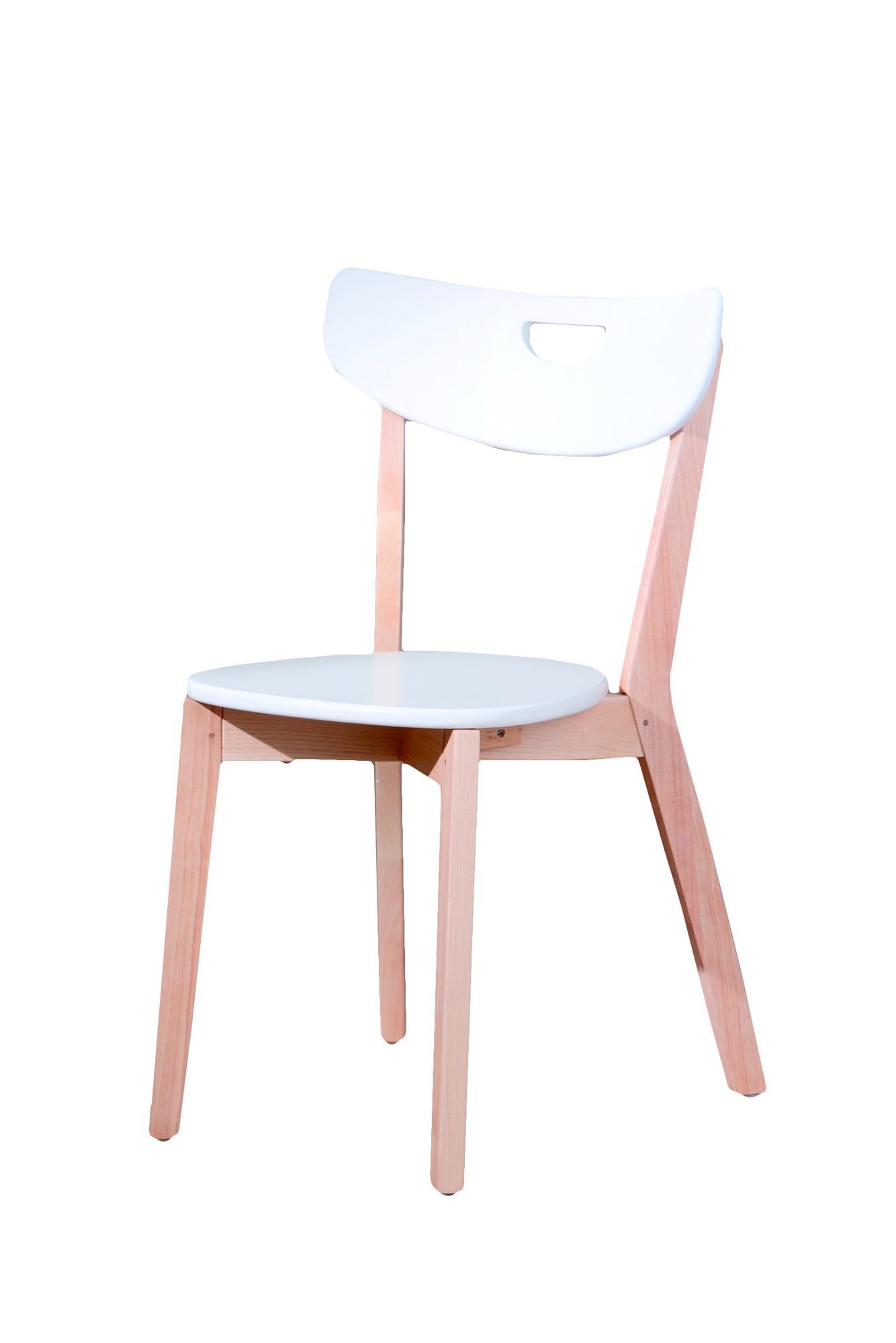PEPPI stolička biela