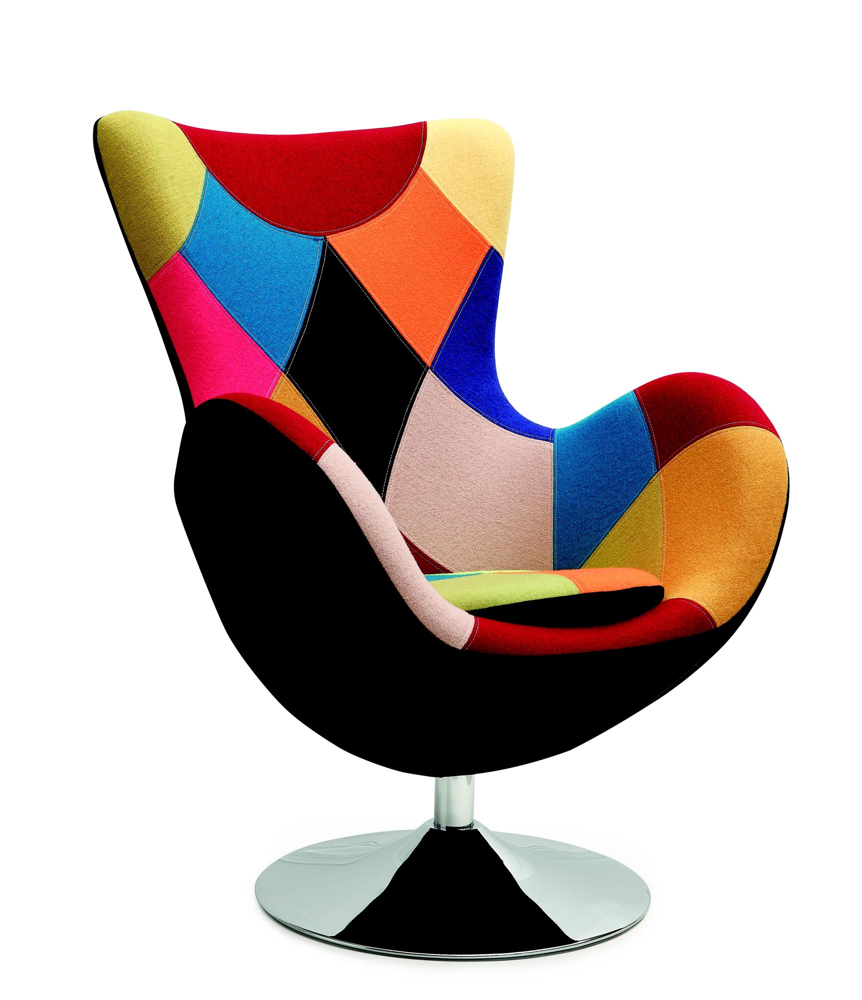 BUTTERFLY stolička patchwork